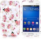 Elegant Flower Silicone hoesje Samsung Galaxy Trend 2 SM-G313HN