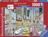 Ravensburger New York - Fleroux - 1000 stukjes