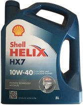 SHELL Helix HX7 10W40 - Motorolie - 5L