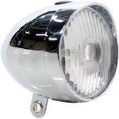 K-parts Fietskoplamp Retro 1 LED Chroom