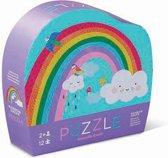 Crocodile Creek 12 pc Mini Puzzle - Rainbow