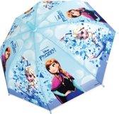 Disney Frozen - Meisjes - Paraplu - Polyester - 76 cm - Blauw