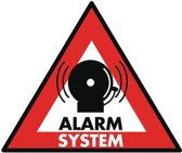 König SAS-ST-AS Sticker Alarmsysteem 123x148mm 5stuks