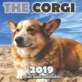 The Corgi 2019 Mini Wall Calendar