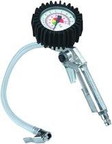 Einhell Bandenspanningmeter / Bandenvulpomp - Werkdruk 0-8 bar - Inclusief aflaatventiel