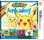Pokemon Art Academy - 2DS + 3DS