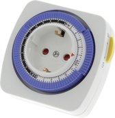 Promax Tijdschakelklok - Met dagprogramma - Vaste ruiter