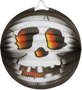 lampion halloween - 26 cm - skull