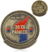 Herdenkingsmunt Koreaanse oorlog 1950 - 1953 Korea Munt