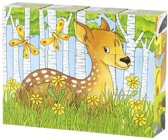 Goki Cube puzzle, forest animals
