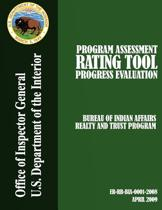 Program Assessment Rating Tool Progress Evaluation