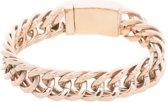 iXXXi Jewelry Armband Madrid Roségoudkleurig -maat 20
