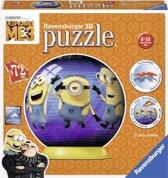 Ravensburger Despicable me 3 puzzleball - 3D Puzzel - 72 stukjes