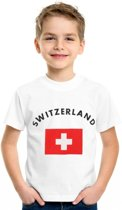 Switzerland t-shirt kinderen L (146-152)