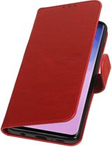 Pull Up Hoesje voor Samsung Galaxy S10 Rood