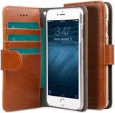 Melkco Book Cover Apple iPhone 6 Plus / 6S Plus Hoesje Bruin