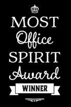 Most Office Spirit Award Winner