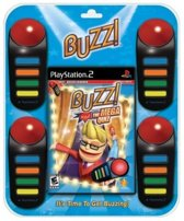 Buzz The Mega Quiz & 4 Buzzers