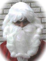 Luxe Kerstman baardstel