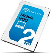 Seagate interne harde schijven 2TB, SATA 6Gb/s, 128MB, 512/4,096, 13 ms, 140MB/s, 600 cycles, 400Gs, RoHS compliance