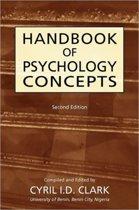 Handbookof Psychology Concepts