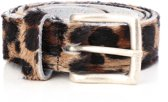 Tannery Leather Kledingriem Damesriem Leer - Panter - 95 cm