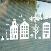 Statische raamstickers Halloween, Sinterklaas en Kerst herbruikbaar