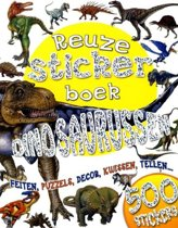 Kinderboeken Icob Dino - Reuzestickerboek: Dinosaurussen. 5+