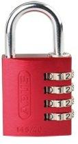 ABUS combinatie-cijferslot Serie 145, aluminium, beugel 40 mm