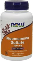 Glucosamine Sulfate 750mg Now Foods 120caps