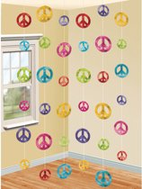 6 String Decorations Feeling Groovy 60 s 210 cm