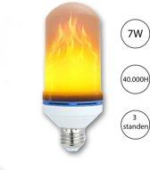 Vuurlamp - led lamp met realistische vuursimulatie
