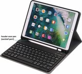 Keyboard hoesje met Stylushouder iPad 9.7 (2017-2018) / Air - Zwart