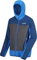 Regatta Softshell Jack Carpo Ii Hybrid Heren Blauw/grijs Maat L