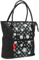 New Looxs Cameo Shopper Fietstas / Shopper - 18 l - Zwart/Wit