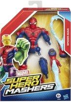 Marvel Avengers Age of Ultron Super Hero Mashers - Spider-man actiefiguur