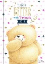 Agenda 2018 - Forever Friends 1 week op 2 pagina's ( (11cm x 16cm)