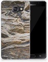 Samsung Galaxy A3 2016 TPU Hoesje Design Steen