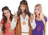 36 stuks: Ketting Hippie in 3 kleuren - assorti
