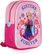 Disney Frozen Sisters Forever 3D Rugzak - Kinderen - Roze