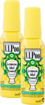 Air Wick VIPoo Lemon Idol - Toiletverfrisser - 2 x 55 ml