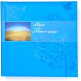 GOLDBUCH GOL-03276 Communie album blauw als fotoboek met DUITSE TEKST