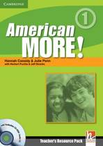 American More! Level 1 Teacher's Resource Pack with Testbuilder CD-ROM/Audio CD