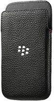 BLACKBERRY CLASSIC LEATHER POCKET BLACK
