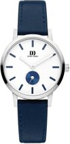 Danish Design IV22Q1219 horloge dames - blauw - edelstaal