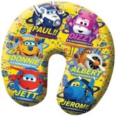 Nickelodeon Nekkussen Super Wings 28 X 25 Cm Geel