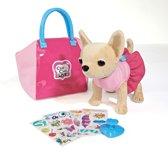 Chichi Love - Chihuahua knuffel met personaliseerbare tas