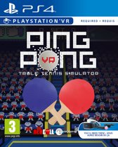 Ping Pong Table Tennis Simulator - PS VR