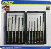 Kinzo 11 delige precisie schroevendraaierset