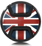 Kaiser Lens Cap Snap-On Style Union Jack 62mm